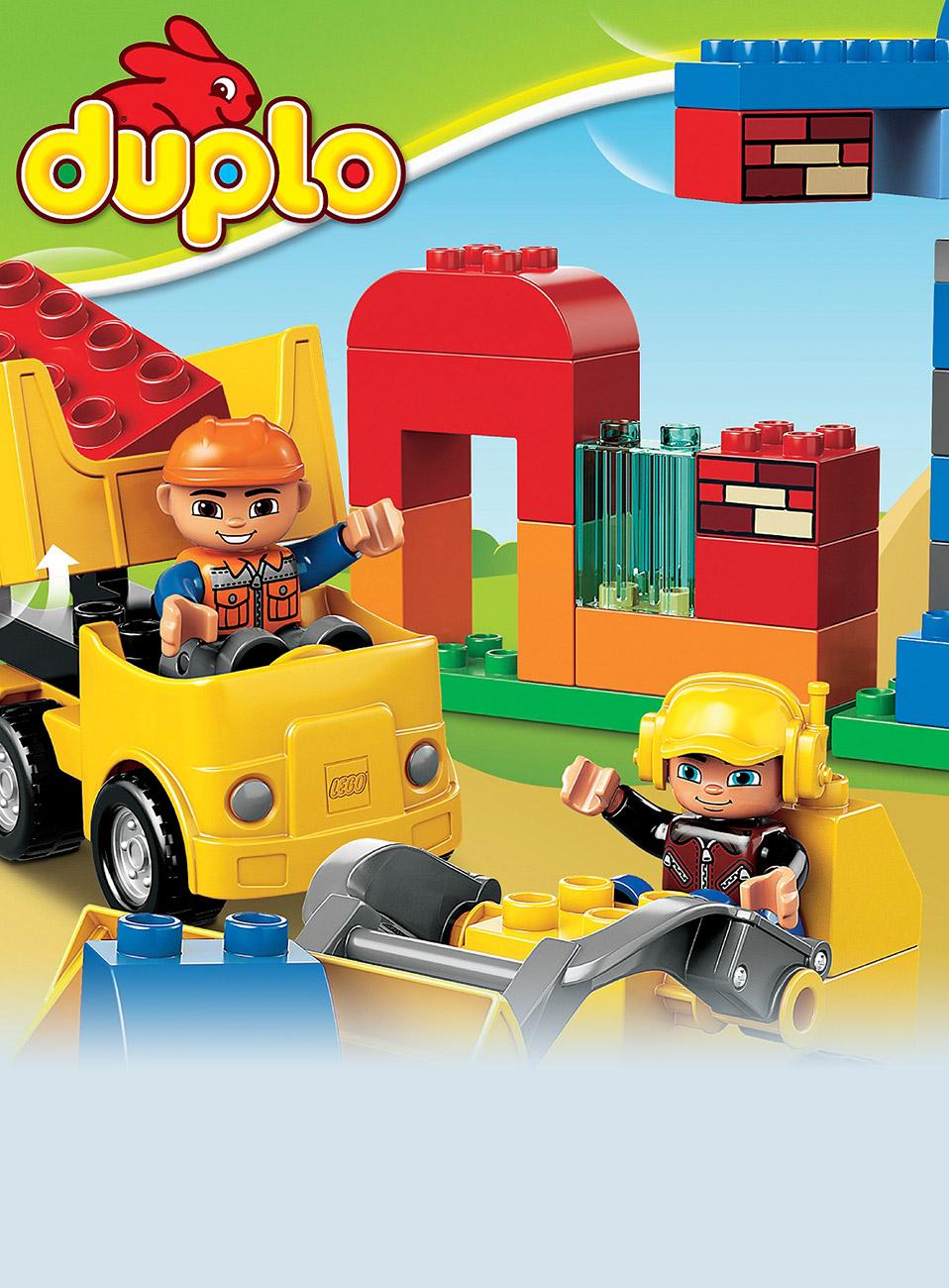 Duplo my first lego lek gadgets for Mobilia webhallen