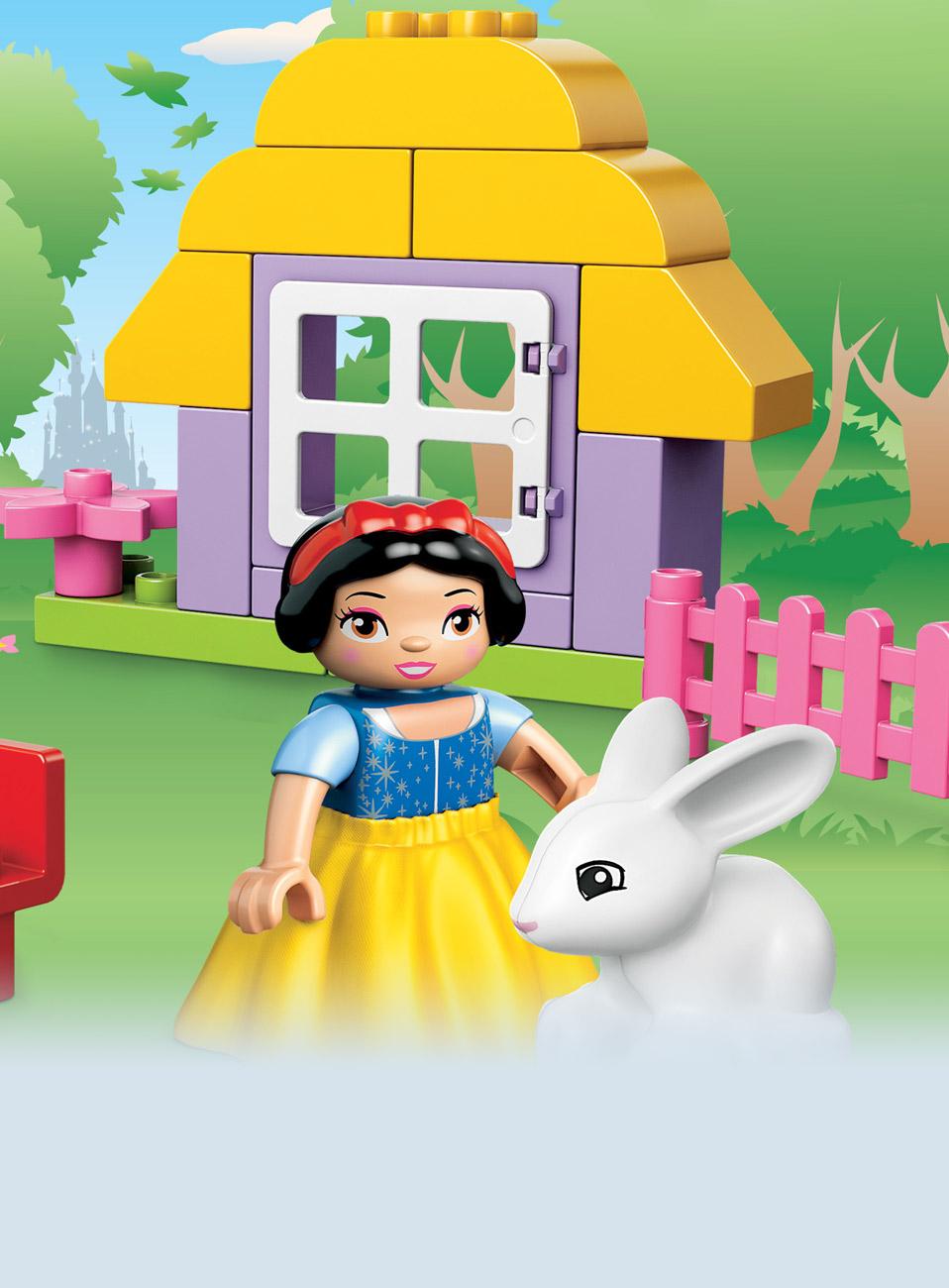Lego duplo t rnrosas slott 10542 for Mobilia webhallen
