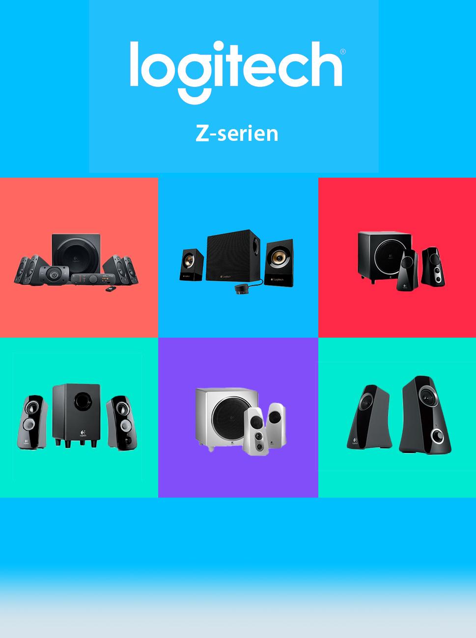 Logitech z series for Mobilia webhallen