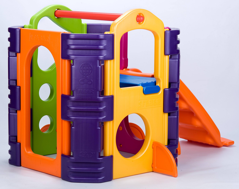 Feber kl tterst llning activity park utomhus leksaker for Mobilia webhallen