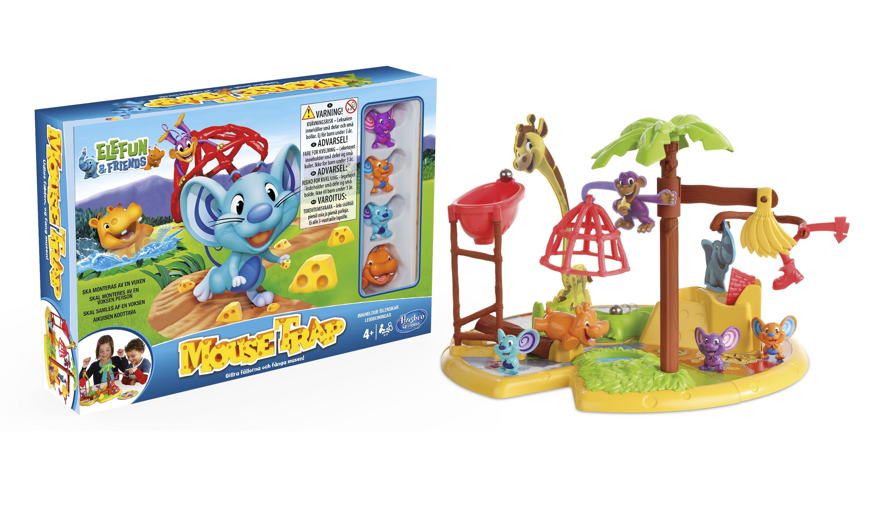 Hasbro mousetrap s llskapsspel br dspel spelkort for Mobilia webhallen
