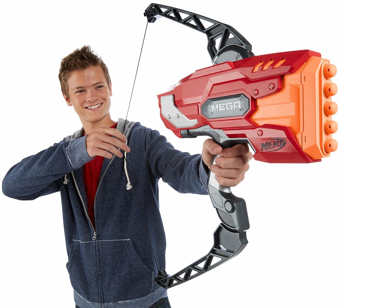 Nerf n strike elite mega thunderbow blaster leksaker for Mobilia webhallen