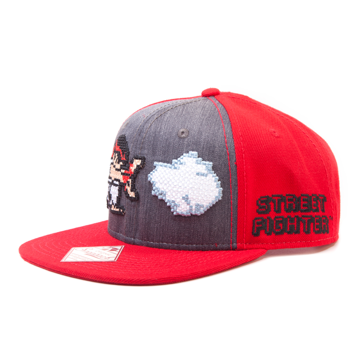 Street fighter snap back keps kepsar m ssor kl der for Mobilia webhallen
