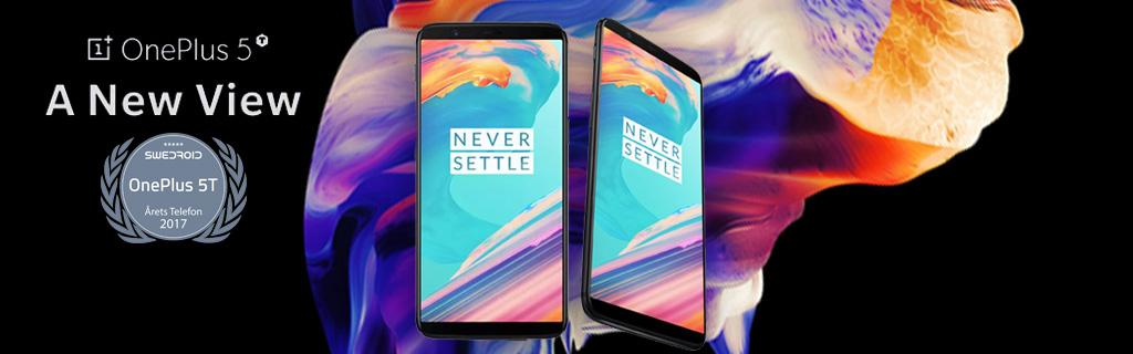 OnePlus 5T - Webhallen.com 180a2e9eb5ad4