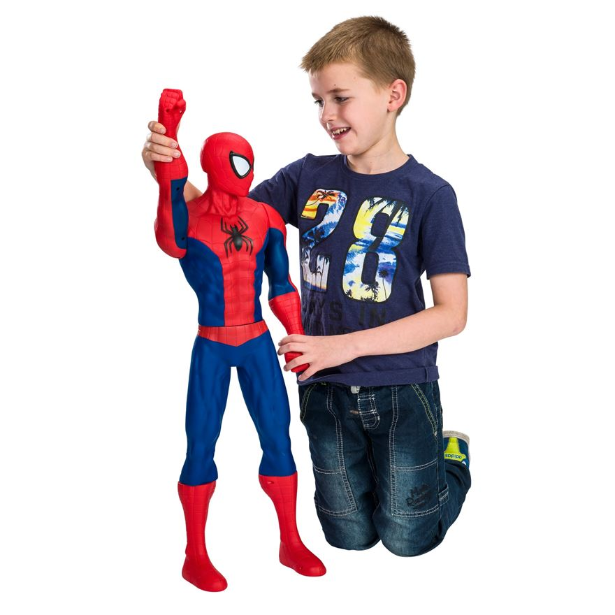 Hasbro spider man spidermanfigur 78 cm sm14 figurer for Mobilia webhallen
