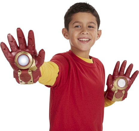 The avengers iron man arc fx glove for Mobilia webhallen
