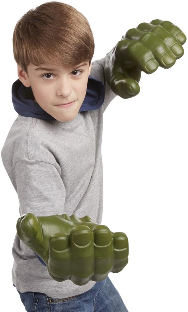 The avengers flexing hulk hand for Mobilia webhallen