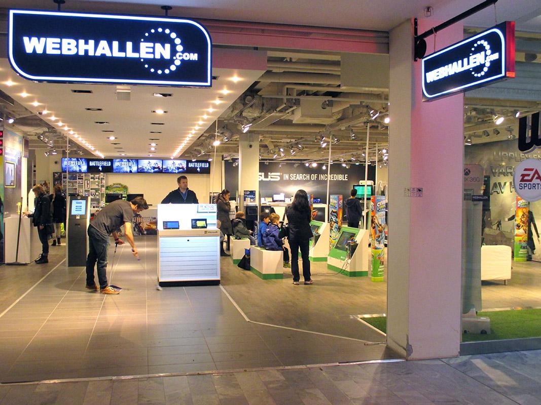 webhallen butiker