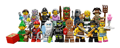 Lego minifigurer serie 11 71002 1 st lego for Mobilia webhallen