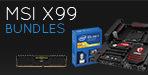 MSI X99 Bundles