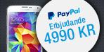 PayPal Galaxy S5