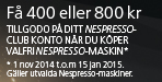 Nespresso Year End Promotion