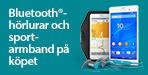 Sony Z3 Bluetooth-h�rlurar p� k�pet
