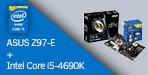 ASUS Z97-E + Intel Core i5-4690K