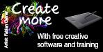 Wacom Create More