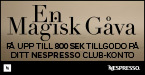 Nespresso - Year end promotion