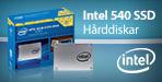 Intel 540 SSD - Hårddiskar