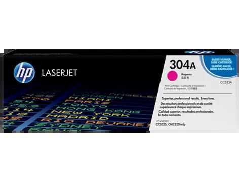HP Toner CC533A – Magenta