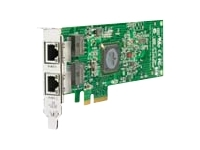 HP NC382T PCI Express Dual Port Multifunction Gigabit Server Adapter - nätverkskort
