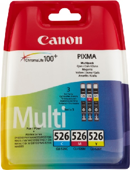 Canon CLI-526 Trefärg - Cyan / Magenta / Gul