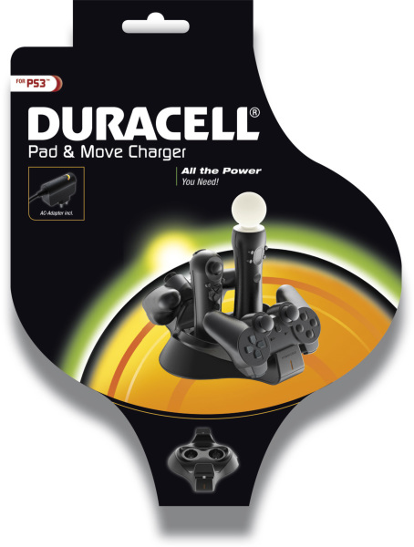 Duracell - Playstation 3 Pad & Move Charger