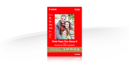 Canon 13x18 Photo Paper Plus II Glossy PP-201 (20 Ark)