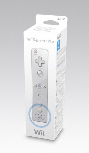 Nintendo Wii - Wii Remote Plus (Vit)