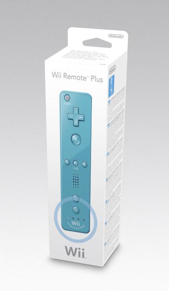 Nintendo Wii - Wii Remote Plus (Blå)