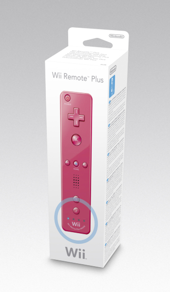 Nintendo Wii - Wii Remote Plus (Rosa)