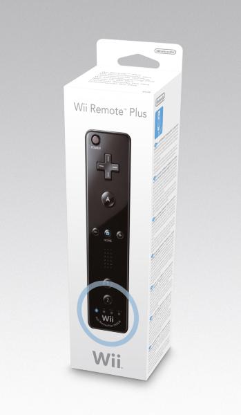 Nintendo Wii - Wii Remote Plus (Svart)