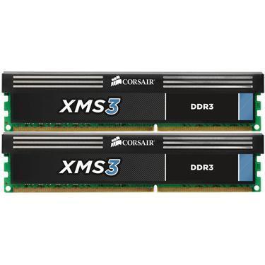 Corsair XMS3 8GB (2x4GB) / 1600MHz / DDR3 / CL9 / CMX8GX3M2A1600C9