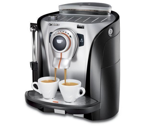 Saeco Espressomaskin Odea Go - Svart/Silver