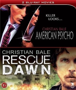 American Psycho + Rescue Dawn  hos WEBHALLEN.com