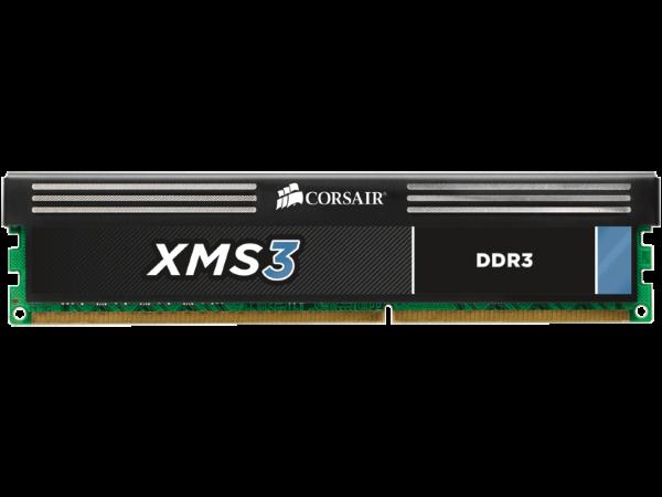 Corsair XMS3 4GB (1x4GB) / 1600MHz / DDR3 / CL9 / CMX4GX3M1A1600C9