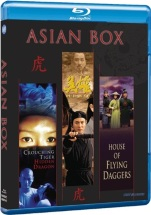 Asian Box - Crouching Tiger, Hidden Dragon + Hero + House of Fly (Blu-ray)