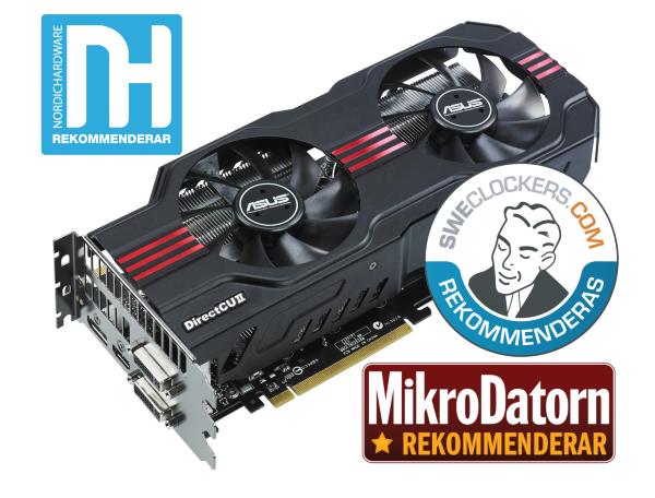 ASUS GeForce GTX 580 1,5GB DirectCU II OC (ENGTX580 DCII/2DIS/1536MD5)