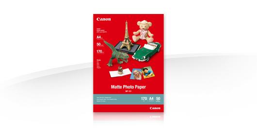 Canon Fotopapper MP-101 Matt A4 (50 Ark) (170gram)