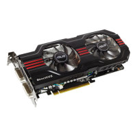 ASUS GeForce GTX 560Ti 1GB DirectCU II TOP (ENGTX560 Ti DCII TOP/2DI/1GD5) - PCI-E / DVI / HDMI