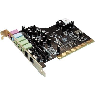 TERRATEC Aureon 5.1 PCI, ljudkort med 3,5mm och optiska kontakter