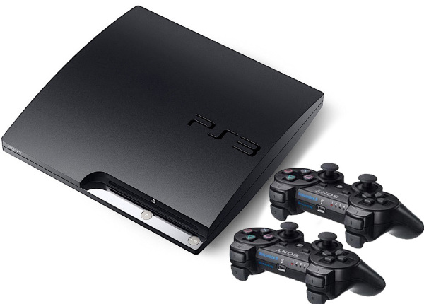 Playstation 3  Basenhet - Slim 320GB inkl 1st extra handkontroll (svart)
