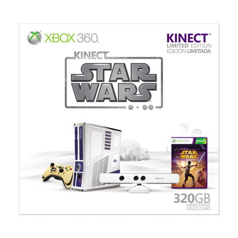 Xbox 360 Basenhet - Kinect Star Wars Limited Edition (320GB)