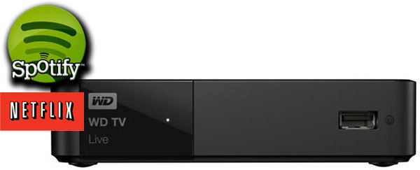 WD TV HD Live Media Player Gen 3 (WiFi)