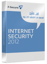 F-Secure Internet Security 2012 Uppgradering 1 �r - 3 anv�ndare