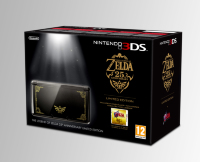 Nintendo 3DS - Basenhet (Svart) - Zelda Ocarina of Time - Limited Edition Bundle - Nintendo 3DS - WEBHALLEN.com