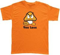 Nintendo GOOMBA You Lose T-Shirt (XXL)
