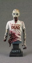 The Walking Dead: Nate Torso Statuette