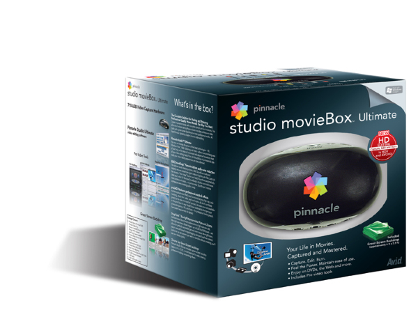 Pinnacle Studio Moviebox 15 Ultimate HD USB