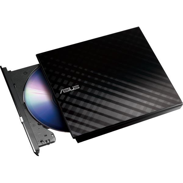 ASUS Extern DVD-Brännare SDRW-08D2S-U Lite - Svart