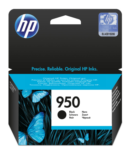 HP 950 Officejet Svart