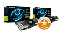 Gigabyte GeForce GTX 690 4GB (GV-N690D5-4GD-B) - Quad SLI-pack
